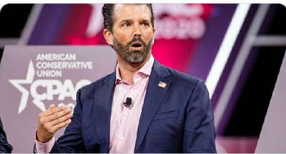 BREAKING: DONALD TRUMP JR TESTS POSITIVE FOR COVID19