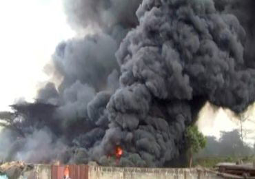 BREAKING NEWS: ANOTHER GAS EXPLOSION IN LAGOS