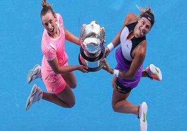 MERTENS, SABALENKA SECOND-SEEDED WIN WOMEN'S DOUBLE TITLE IN THE AUSTRALIAN OPEN  - MARY ABAZUO REPORTS