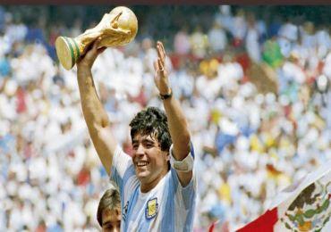 JUST IN: FOOTBALL LEGEND DIEGO MARADONA IS DEAD