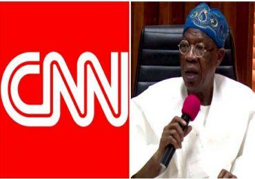 LEKKI TOLLGATE KILLING: LAI MOHAMMED WRITES CNN HEADQUARTERS ON REPORT