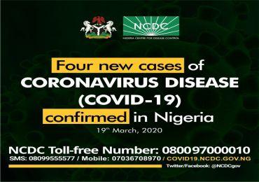 Lagos Records 4 New Cases Of Corona Virus