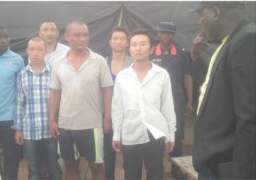 Chinese Men Arrested In Zamfara For Illegal Mining (video)